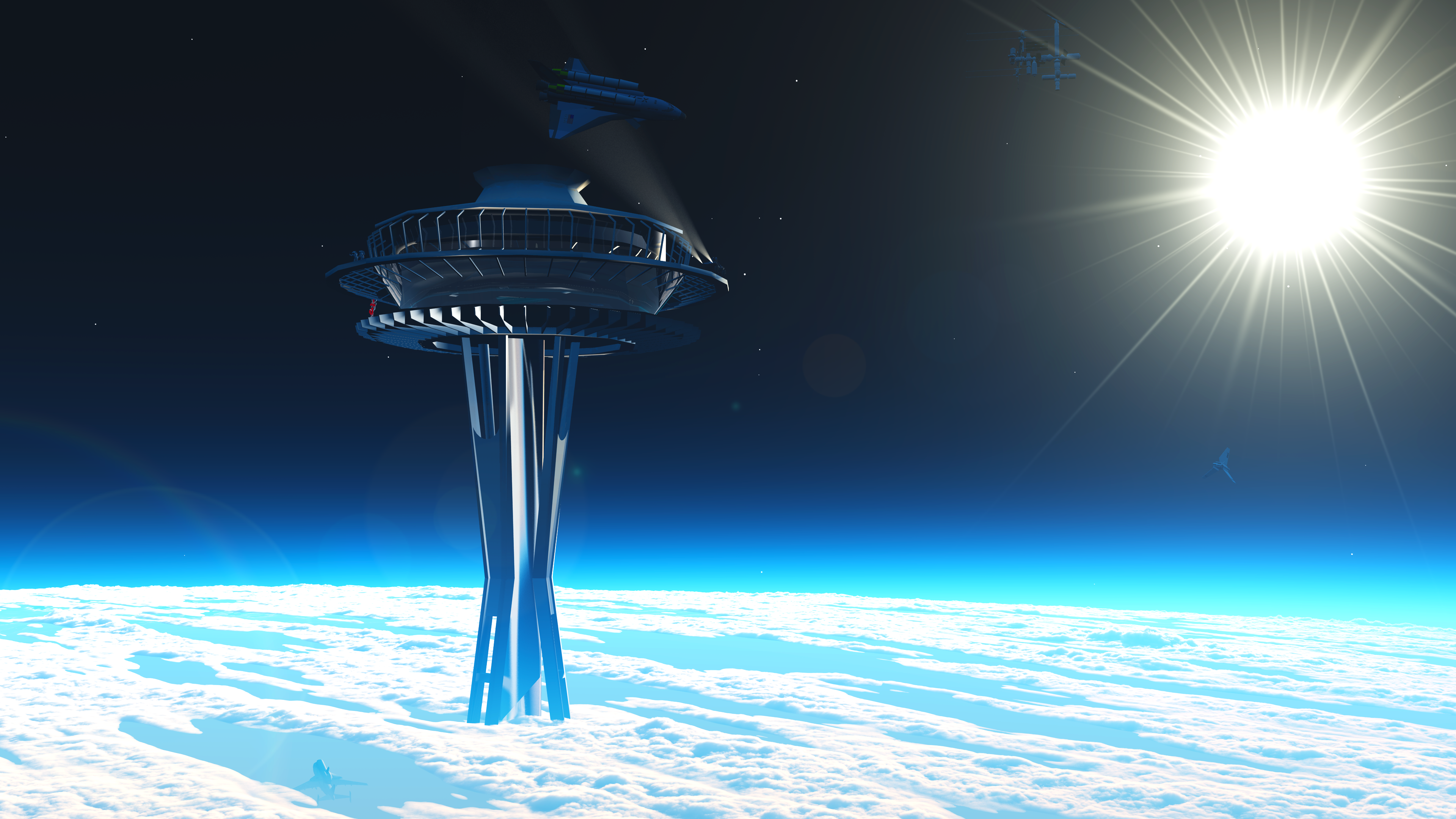 SpaceElevator_seattle_space_elevator_observatory_by_alterbr33d-d5j8j2p