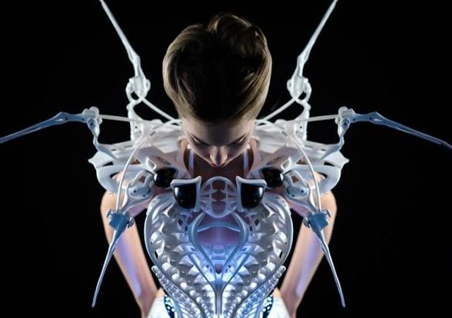 Spider dress