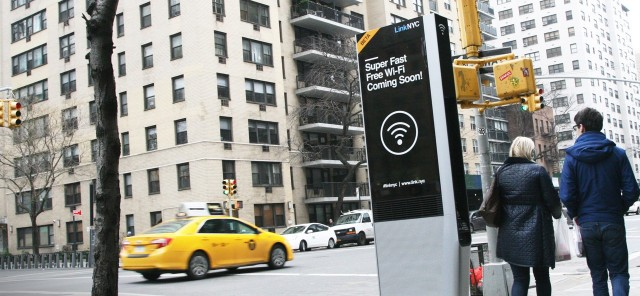LinkNYC, Wi-Fi hotspot in New York