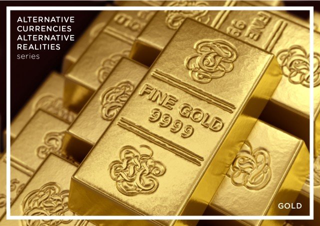 Virtual Gold bullion alternative currency