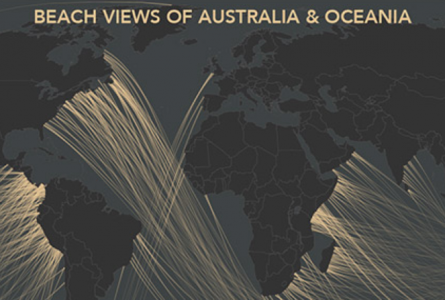 beach views of australia and oceania