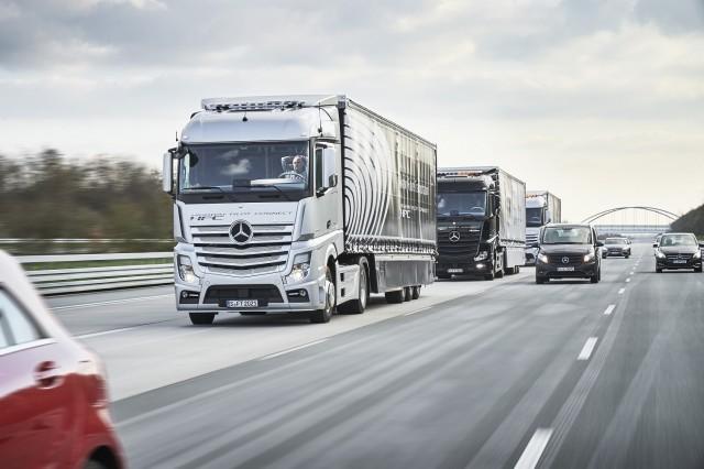 europe platooning truck challenge
