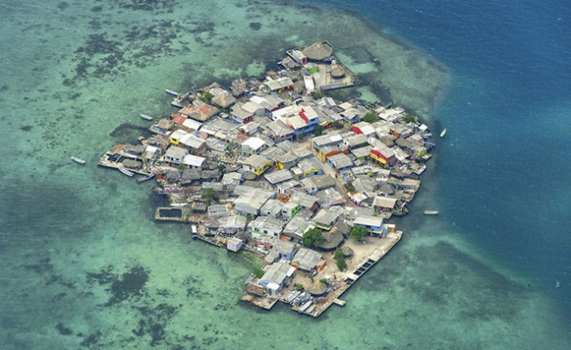 The most densely populated island on Earth.