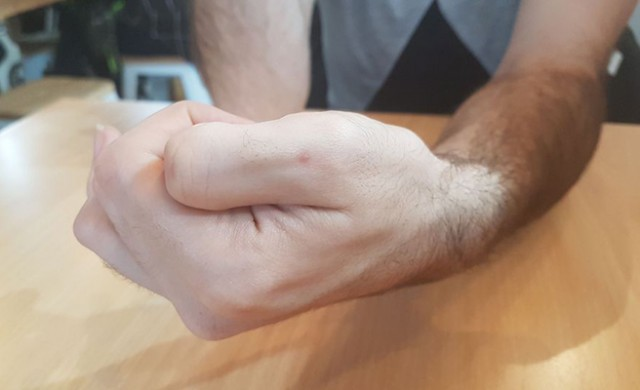 Payment by thumb