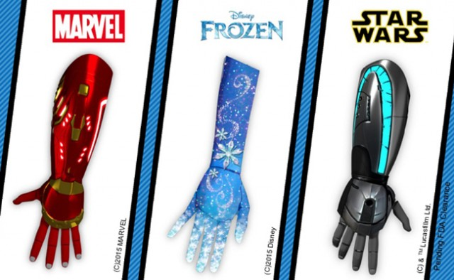 Open Bionics is helping children in need for bionic hands. With Iron Man, Frozen, or Star Wars-themed prosthetics, their fantasies become reality.