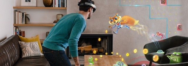 The Microsoft HoloLens is a holographic computer that enables you to interact with high-definition holograms through augmented reality.