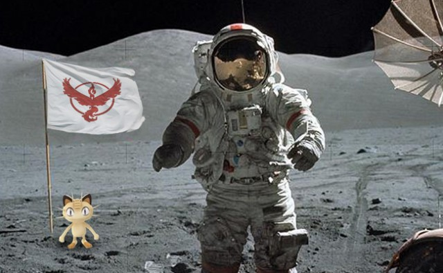 Are there Pokemon on the moon?