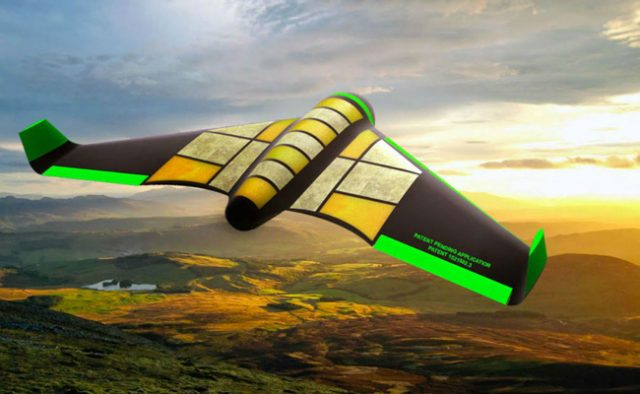 Nigel Gifford is developing a drone that will be relatively inexpensive, disposable, and edible