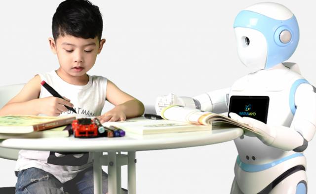 Babysitter robots