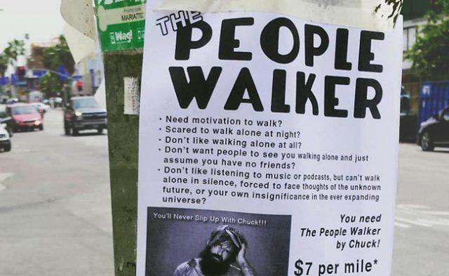 The People Walker Add