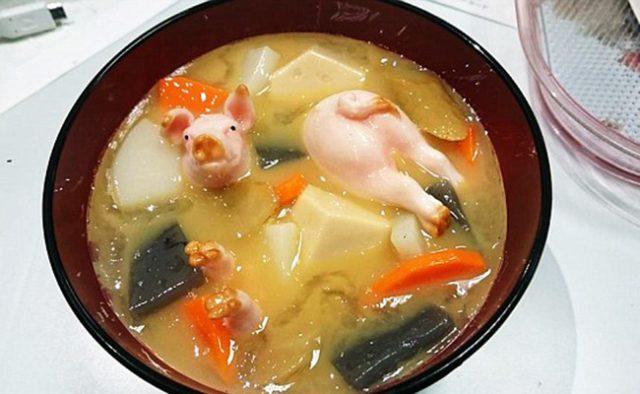 Miniature Piglet Soup