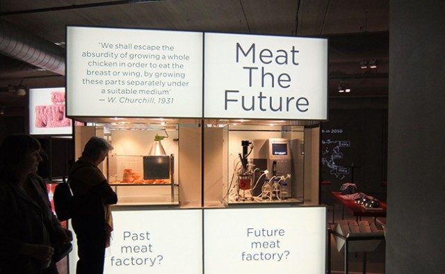 Koert van Mensvoort will discuss Meat the Future on Tuesday October 25 at Natlab in Eindhoven, as part of a lecture series that centers on the topic of design thinking. Join the meeting and enter the debate!