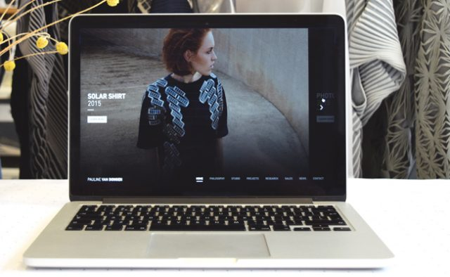 Pauline van Dongen launches new website