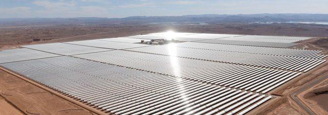 Solar energy plant Marocco