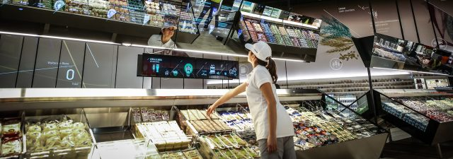 Coop Italia has opened a flagship store in Milan to present their vision of what grocery shopping might hold for us in 2050.