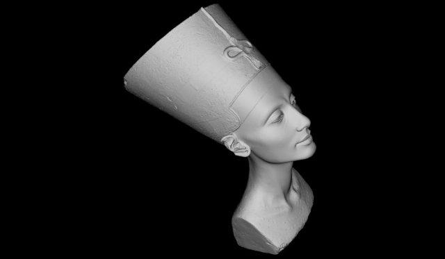 3D Printed Nefertiti Bust