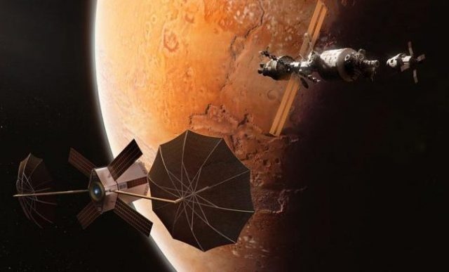 satellites surrounding mars