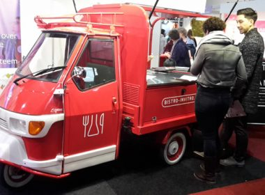 Find the Bistro in Vitro Ice Cream Cart this weekend at the National Health Fair in Utrecht.
