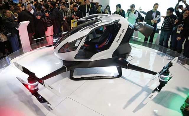 Meet the self-flying drone taxi in Dubai