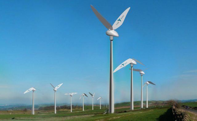 A start-up company build a wind turbine inspired by the hummingbird.