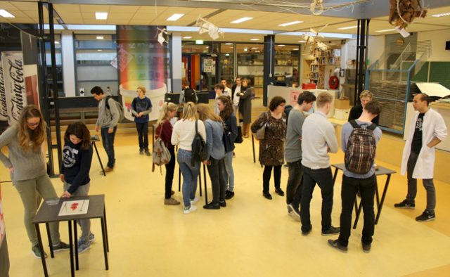 The Nano Supermarket was invited to the first edition of Broklede Inspiration Day at ROC Broklede, a high school in the Netherlands.