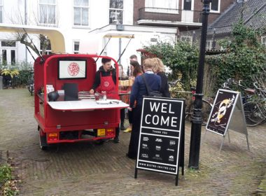 Yesterday Bistro In Vitro served some delicious ice cream during the opening of the exhibition (Re)Inventing Nature at Fotodok, Utrecht.
