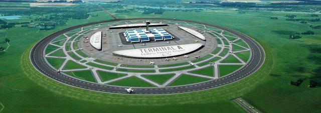 endless runway circular airport