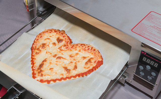Meet the commercial 3D pizza printer that takes your order via a smartphone app.