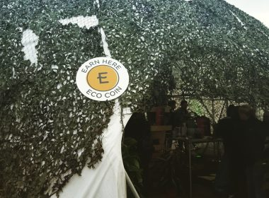 ECO Coin during DGTL festival in Amsterdam