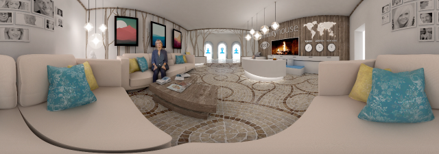 Infinity House Retreat opened its doors for world's first virtual retreat for the sake of self-enrichment.