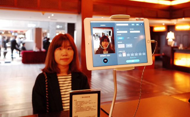 Paying with Face in China