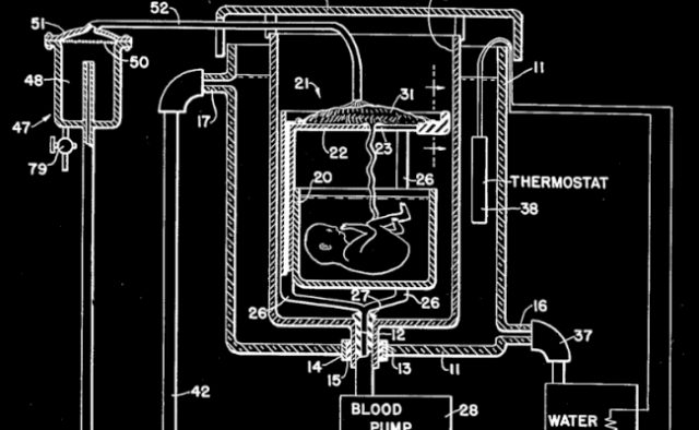 Emanuel M. Greenberg artificial womb patent 1955