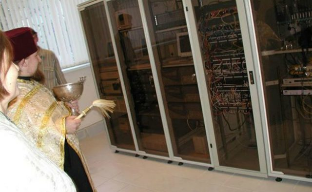 Sanctifying servers with knowledge and power from digital demons.