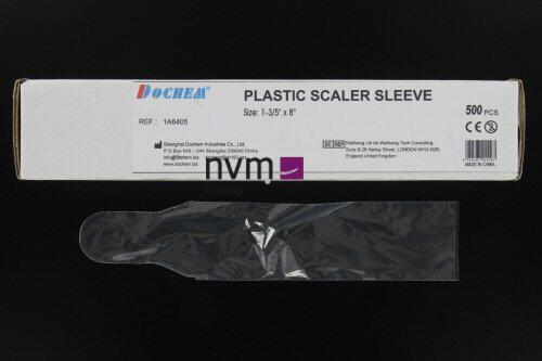 FHS PLASTIC SCALER SLEEVES 20,3x4,1cm (500st)