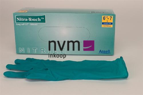 ANSELL NITRA-TOUCH HANDSCHOENEN NITRILE POEDERVRIJ SMALL (100st)