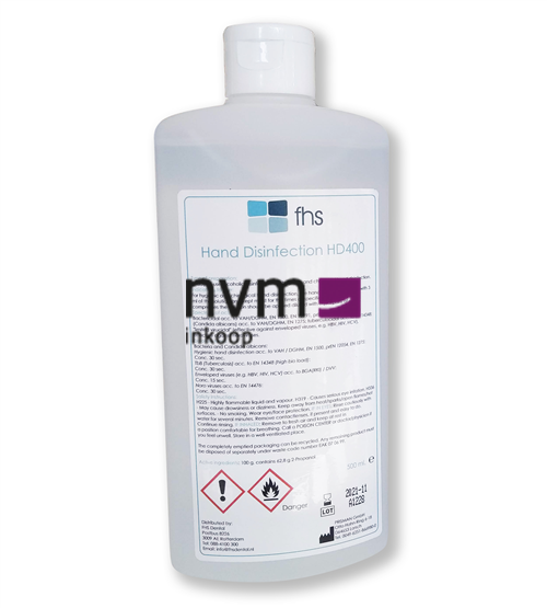 FHS HANDDESINFECTIE HD400 (500ml)