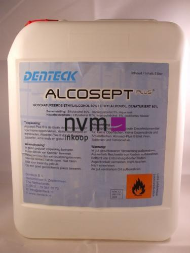 DENTECK ALCOSEPT PLUS (5ltr)
