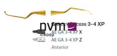 AMERICAN EAGLE GRACEY CURETTE XP 3/4 +3 ACCESS NR.GA3/4XPX