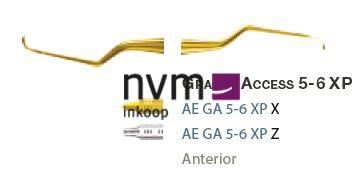 AMERICAN EAGLE GRACEY CURETTE XP 5/6 +3 ACCESS NR.GA5/6XPX