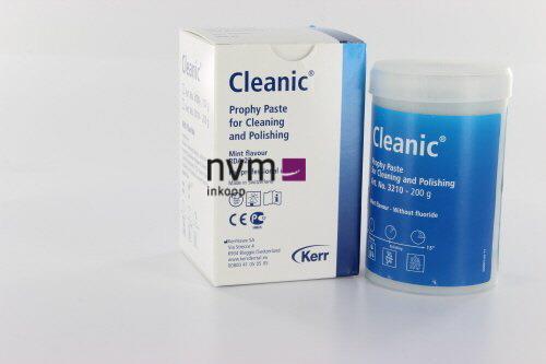 KERRHAWE CLEANIC MINT REFILL ZONDER FLUOR NR.3210 (200gr)