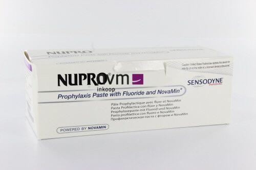 DETREY NUPRO SENSODYNE STAIN REMOVAL CUPS SPEARMINT MET FLUORIDE (175st/prophy grip/ring)