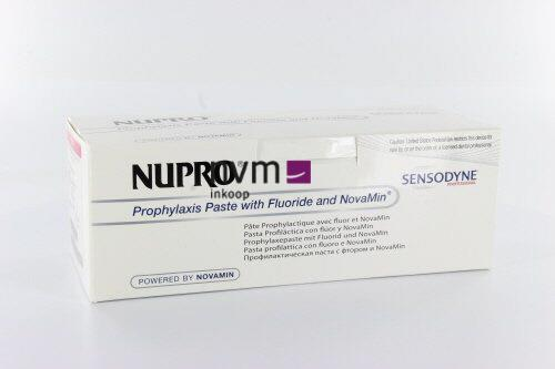 DETREY NUPRO SENSODYNE POLISH CUPS SPEARMINT MET FLUORIDE (175st/prophy grip/ring)