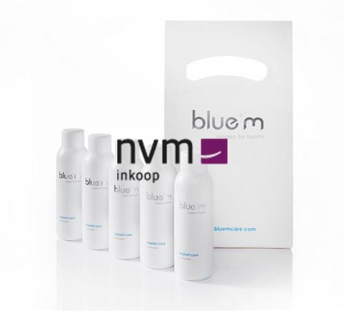 BLUE M TRAVELKIT MONDSPOELING MET ACTIEVE ZUURSTOF (5x50ml)