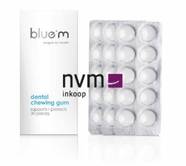 BLUE M DENTALE CHEWING GUM (12x30st)
