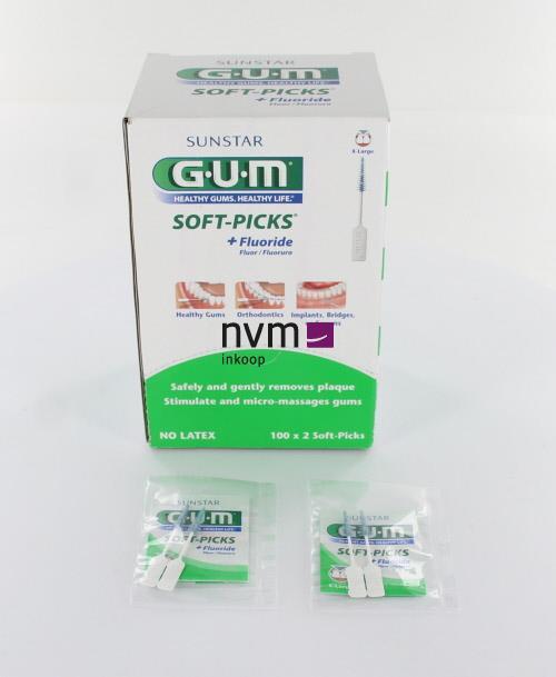 BUTLER GUM SOFTPICKS X-LARGE (100x2st)