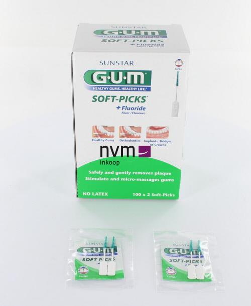BUTLER GUM SOFTPICKS LARGE (100x2st)