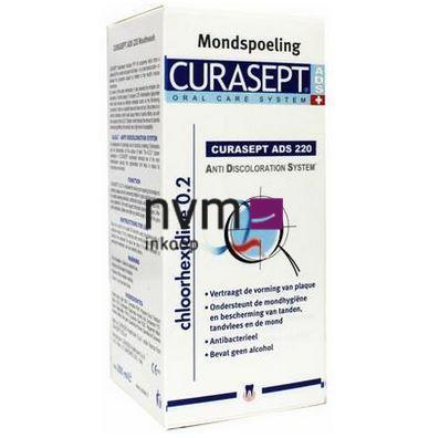 CURASEPT MONDSPOELMIDDEL ADS 220 0,20% CHLOORHEXIDINE (200ml)
