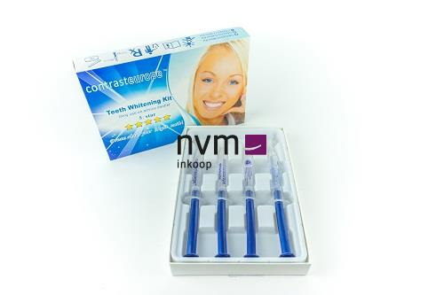CONTRAST TEETH WHITENING KIT 17% CARBAMIDE PEROXIDE (4x3ml)