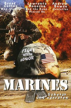 Marines movie poster