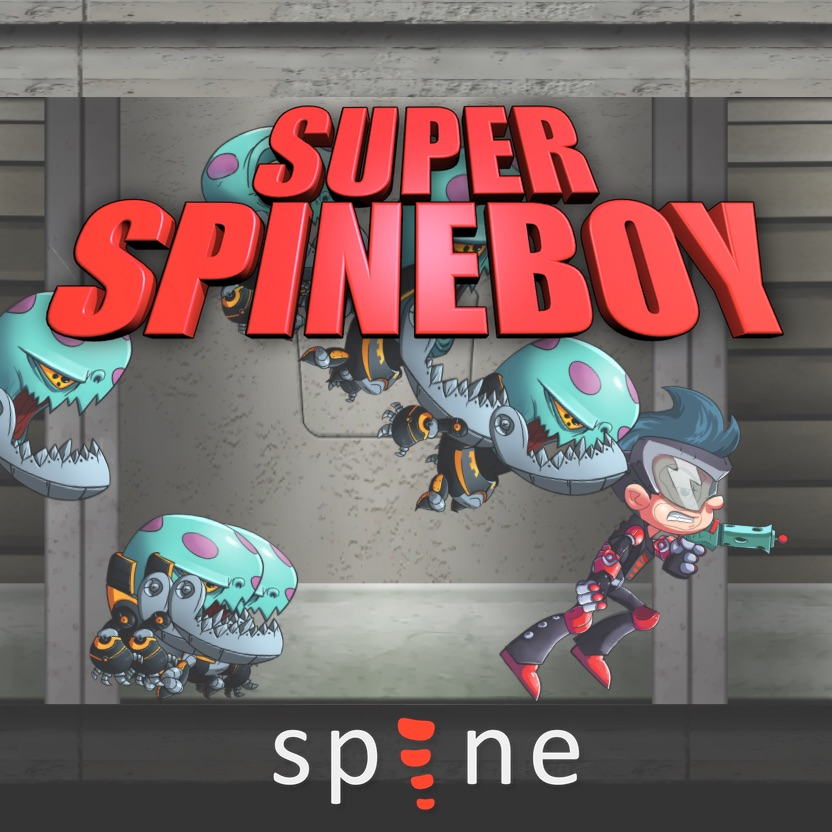 Overview | Dashboard | Super Spineboy | PlayCanvas | 3D
